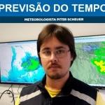 Meteorologista Piter Scheuer traz a previsão do tempo para São Miguel do Oeste e região sempre às 8h40, ao vivo pela 103,7 FM / Foto: Divulgação