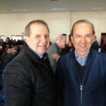 Senador Jorginho Mello e Mauricio Eskudlark / Foto: Ascom