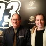 Claudir Frigeri e sua filha que e a gestora comercial da empresa / Foto: Silvana Ruschel / 103FM